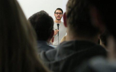 IOTA Meetup in Berlin mit Dominik Schiener