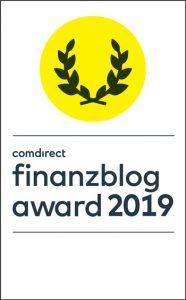 Finanzblog Award 2019 Voting Banner