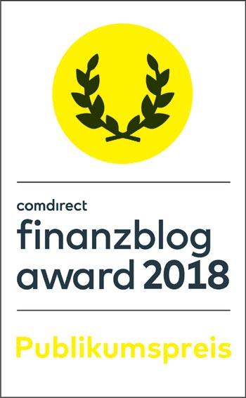 Finanzblog Award 2018 finanzielleFreiheit.eu Voting Publikumspresi