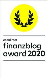 Finanzblog Award 2020 - deine Stimme für finanzielleFreiheit.eu in der Kategorie Publikumspresi