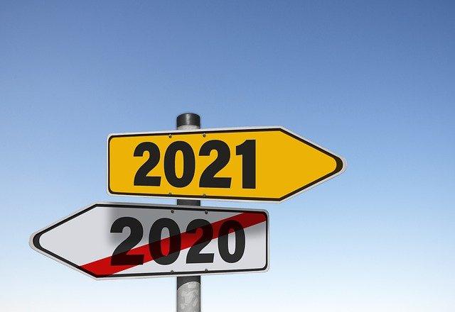 2020 2021 Schild